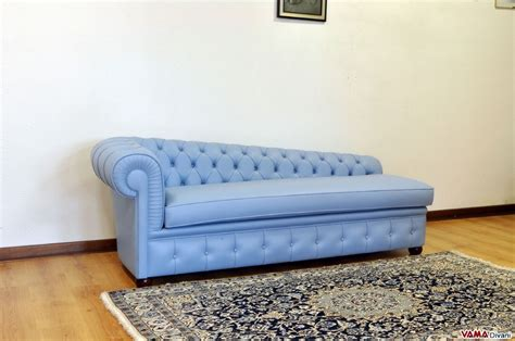 Chesterfield Leather Chaise Longue, Price And Sizes