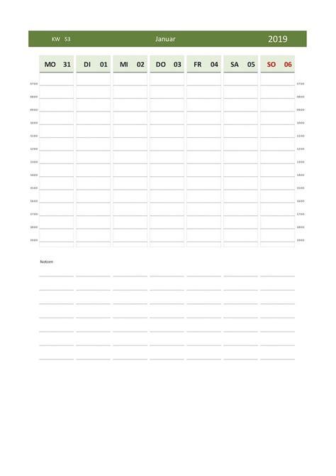 wochenkalender schweiz zum ausdrucken gratis