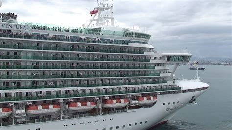 Ship Ventura by Cruise Ships Quot Disney Magic Quot And Quot Ventura Quot Exchanging Horn