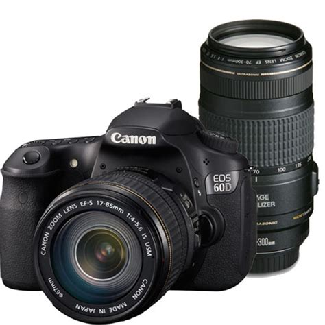 canon eos 60d digital canon eos 60d digital slr with 17 85 is lens and 70
