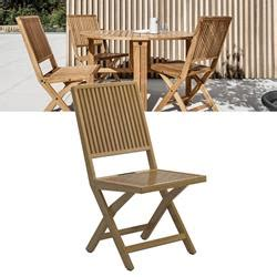 gloster voyager folding chair stand buffed teak birstall