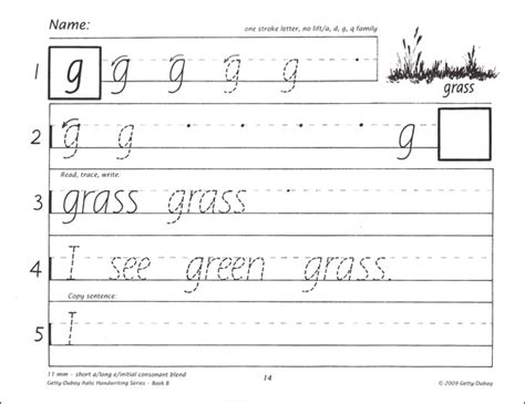 Italic Handwriting Book B 4th Edition (005672) Details