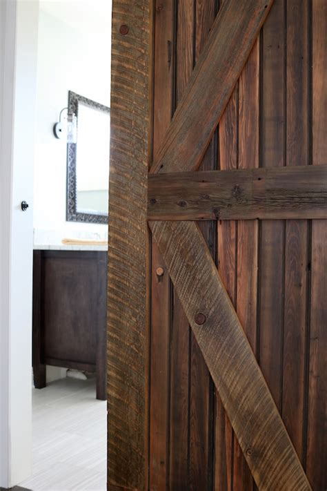 farmhouse chic sliding barn doors  chic life