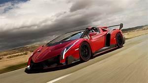 Download Wallpaper 1920x1080 Red Lamborghini Veneno ...