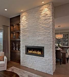 White, Stone, Fireplace, Ideas, Fireplace, Inspiration