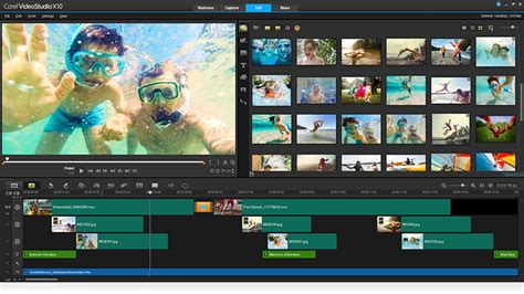 corel studio templates editing software by corel videostudio pro x10