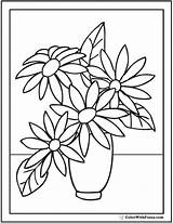 Coloring Flower Pages Zinnia Getcolorings Printable Pdf sketch template