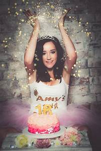18th birthday photoshoot and cake smash on location or in our north east studio | Photography ...