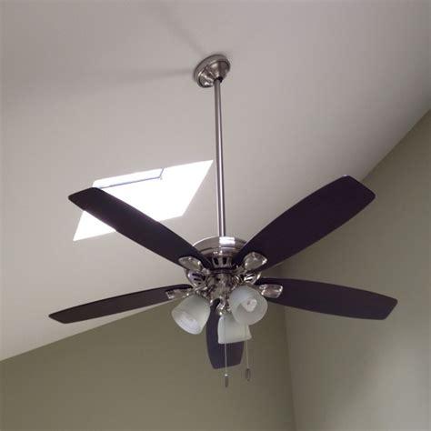 hunter highbury ceiling fan new hunter highbury ceiling fan with 3ft downrod installed