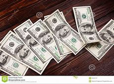 Money On The Table Stock Photo Image 50225131
