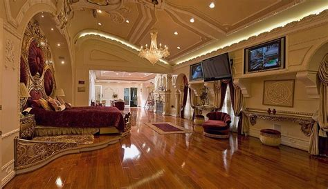 rich home interiors this sumptuous master bedroom is eye catching and the epitome of luxury and greatness discover