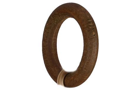 wooden curtain pole rings 8 pack fit to 16 19