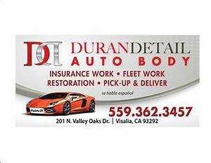 Auto body shop near 93223 farmersville ca carwisecom for Duran detail auto body