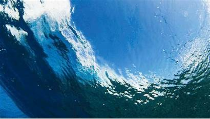 Waves Gifs Crash Crashing Hawaii Gifimage