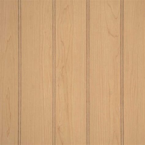 Beadboard Wall Paneling  Wood Paneling  Ultra Maple 36