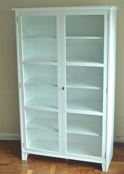 white glass cabinet doors scandinavian glass cabinet glass display cabinet white