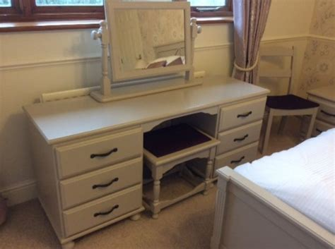 Two sets of bedroom furniture chalk paint & Estate