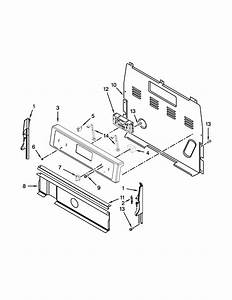 Control Panel Parts Diagram  U0026 Parts List For Model