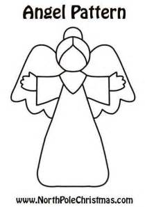 Christmas Angel Cut Out Patterns