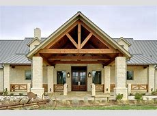Texas Hill Country Retreat Rustic Exterior Dallas