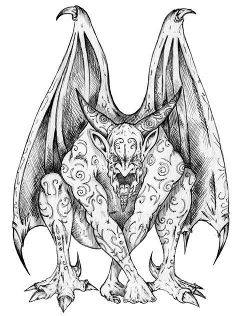 Gargoyle Tattoos Designs, Ideas and Meaning | Tattoos For You