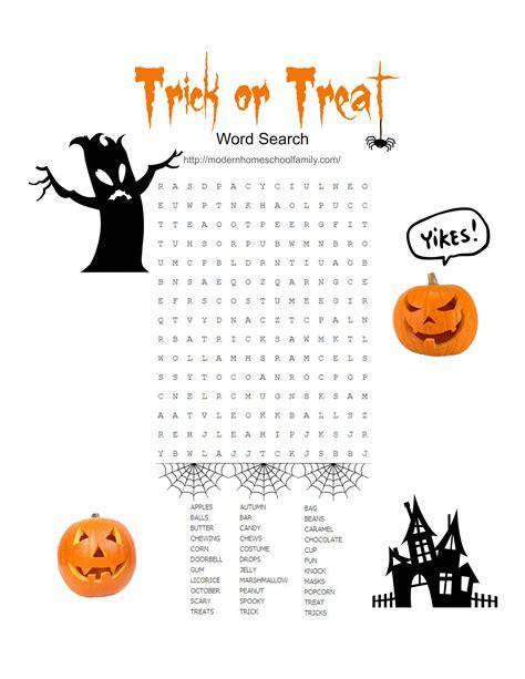 printable halloween activity sheets  elementary