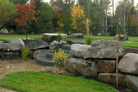 using boulders in landscaping landscaping boulders landscaping network