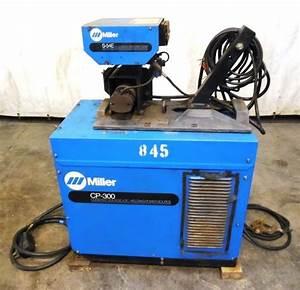 Miller Constant Voltage Dc Welding Power Source Cp