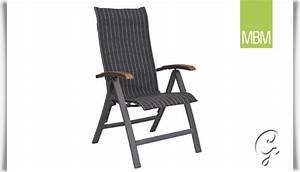 Gartenstühle Alu Klappbar : hochlehner klappstuhl kennedy von mbm ~ Eleganceandgraceweddings.com Haus und Dekorationen