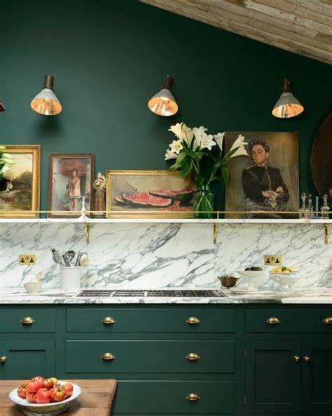 cuisine peinture verte couleur peinture cuisine 66 idées fantastiques