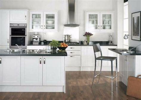 White Cupboard Kitchen by Kitchen Unit Cupboard Doors Gloss White Plinth To Fit