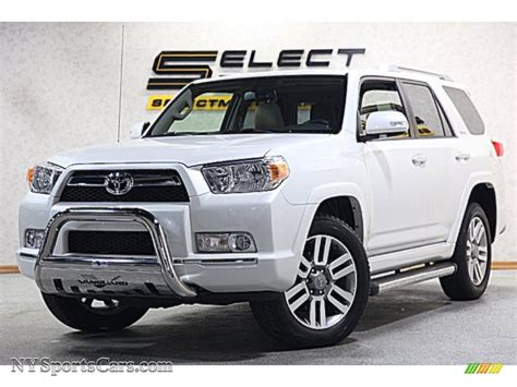 2013 toyota 4runner limited 4x4 in blizzard white pearl 135099 nysportscars cars for