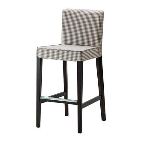 Ikea Henriksdal Chair Covers Uk by Ikea Henriksdal Sagmyra Gray Bar Stool Slipcover Barstool