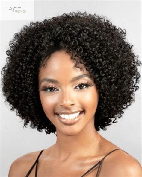 Samaya   Afro Kinky   Indian Remy   Lace Front Wig   Lace