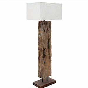 reclaimed driftwood floor lamp for sale cottage bungalow With reclaimed wooden floor lamp