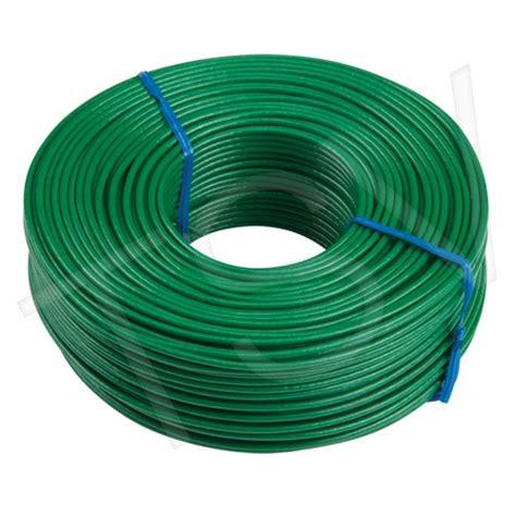 16 green pvc coated tie wire 20 rolls box