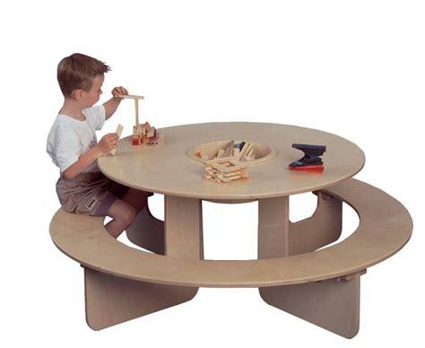Table Ronde Pour Enfant