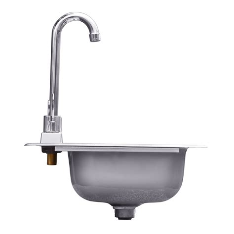 which side is water on a sink stainless steel drop in sink with faucet summerset