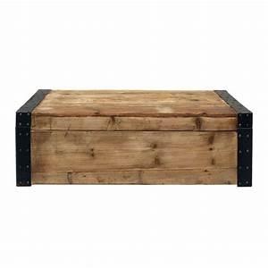 Banc Coffre Maison Du Monde : table basse coffre naturel interior 39 s ~ Premium-room.com Idées de Décoration