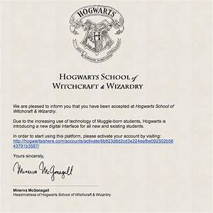 you can now attend hogwarts school of witchcraft and With how do you get a letter from hogwarts