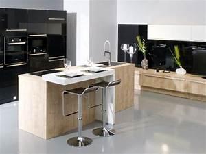 cuisine gentleman cuisines aviva gt cuisine design avec With meuble bar moderne design 14 cuisine petit ilot central cuisine en image