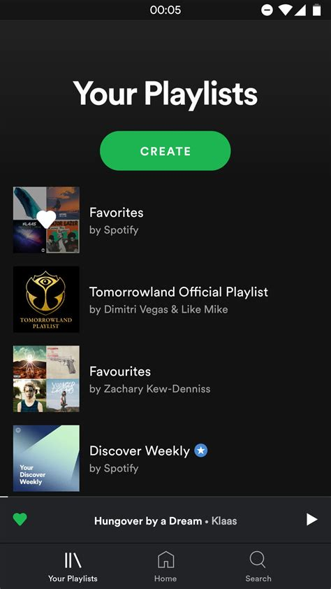 new apps for android spotify is testing a sleeker and less cluttered ui for its