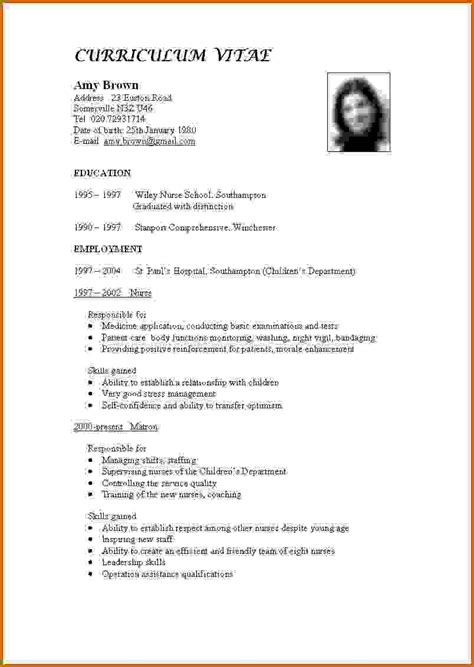 How To Make Curriculum Vitae For Teaching by 13 How To Make Cv For Teaching Lease Template
