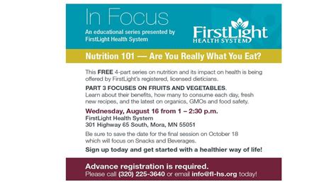 in light wellness systems in focus are you really what you eat firstlight