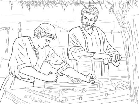 saint joseph coloring pages printable coloring pages