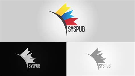 syspub logo presentation by meta design on deviantart