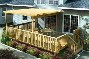 Simple Timber Deck Plans Ideas Photo by Deck Plans Picmia