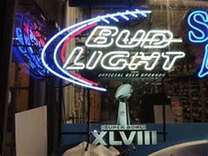 Neon beer signs Seahawks super bowl and Beer signs on