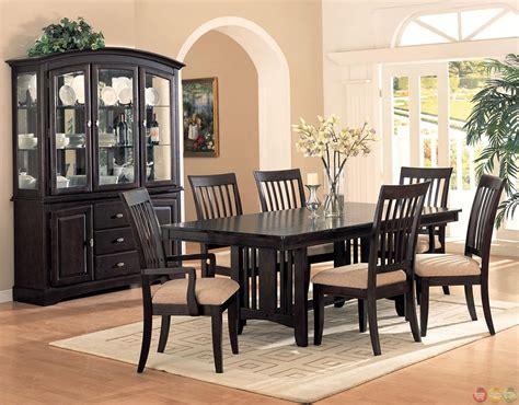monaco cappuccino finish casual dining room set