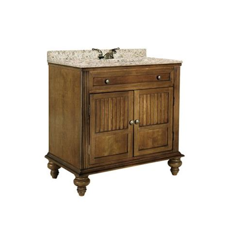 sinks for the kitchen kaco 36 quot barbados single sink vanity w gold top brown 8504
